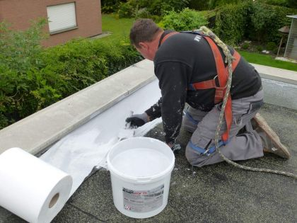 Roof waterproofing - Attic to roof surface tie-in