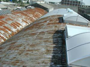 Berühmt Dachsanierung bei Blechdach, Trapezblech und Wellblech - isopol.de IT74